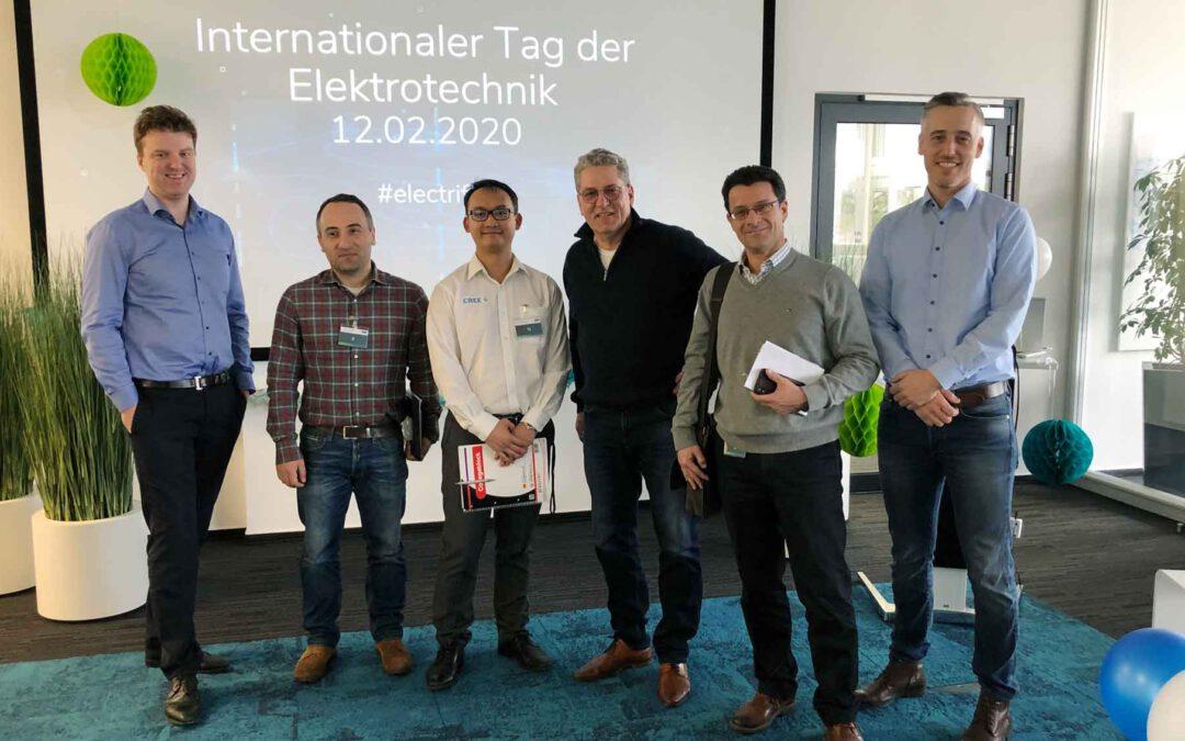 "AVL SET etabliert 12. Februar als ""Internationalen Tag der Elektrotechnik"""